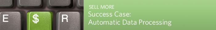 SELL MORE - Success Case: Automatic Data Processing