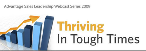 Advantage Sales Leadership Webcast Series 2009