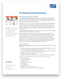 Applied Leadership Simulation Overview thumbnail