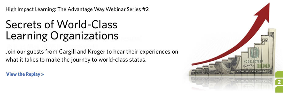 Complimentary Webinar - Secrets of World-Class Learning Organizations