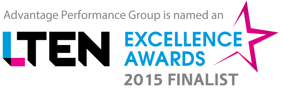 Advantage is named an LTEN Excellence Awards finalist