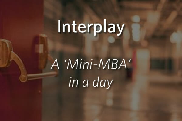Interplay - a Mini MBA in a Day