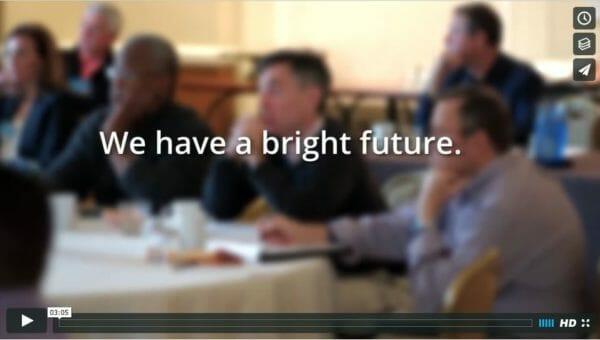 screenshot of recruitment video