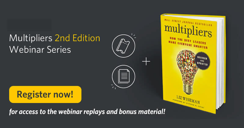 Register now for the multipliers webinar series replays and bonus material!