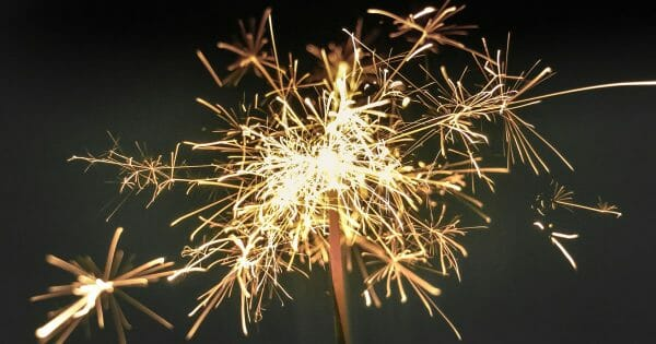 where the magic happens - sparkler photo from unsplsh.com