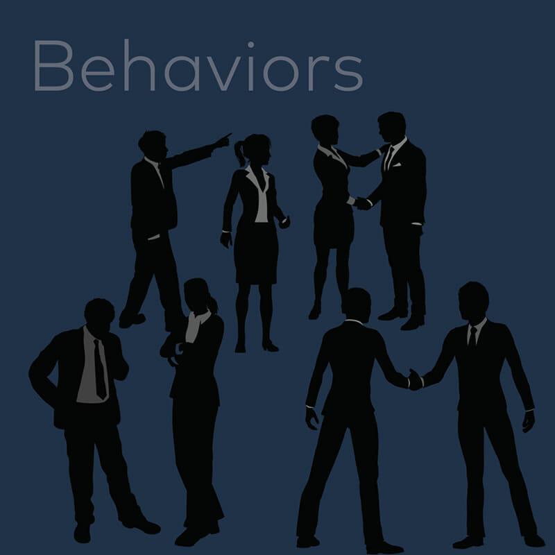 decision making illustration - behaviors
