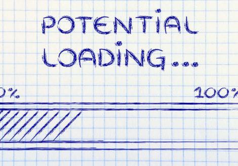 talent management potential loading (illustration of progress bar)