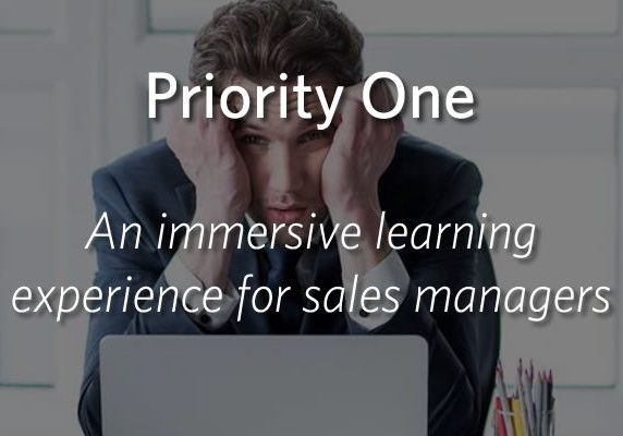 Priority One - An immersive learning experience for sales managers