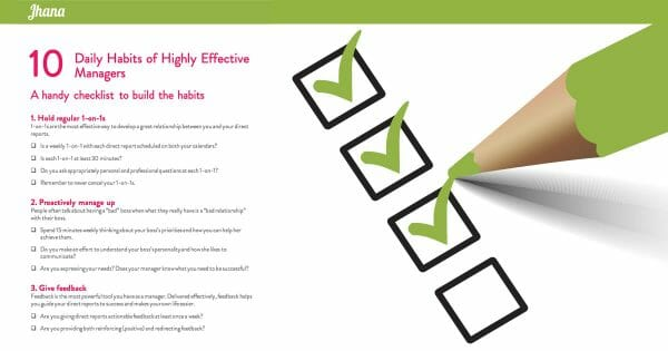 10 Daily Habits of Highly Effective Managers