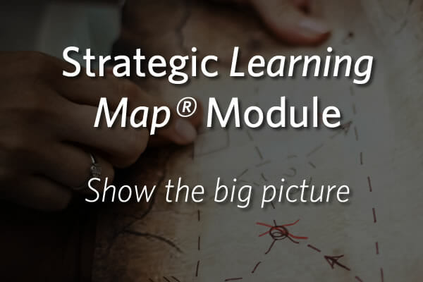Strategic Learning Map® Module