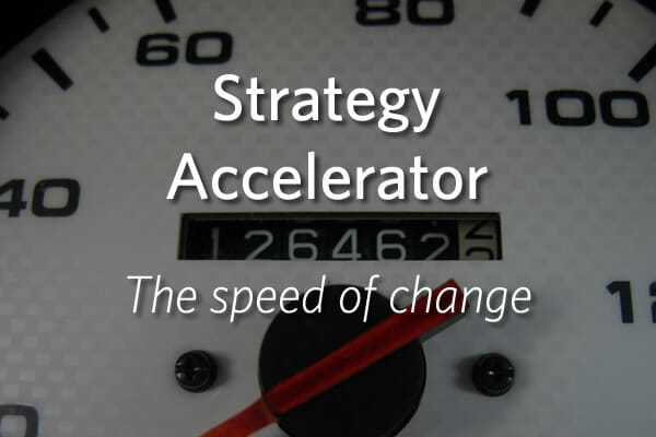 Strategy Accelerator - The speed of change