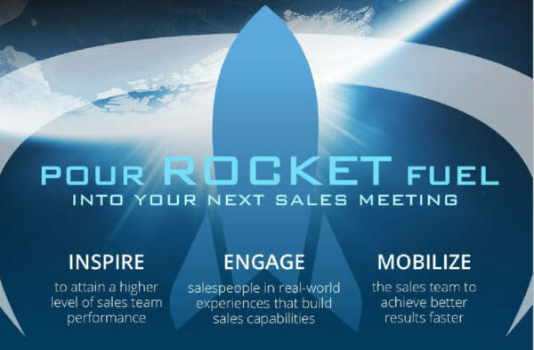 Pour rocket fuel into your next sales meeting with these 5 steps