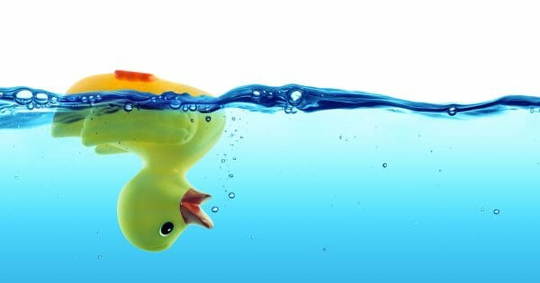 upside down rubber duck - help your people succeed by helping them fail