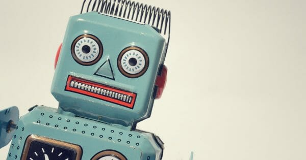 The future of work: How technology is affecting the workplace - photo of vintage robot