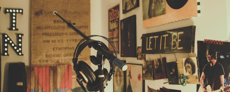 Play it again: webinar replays - Recording studio photo by Paulette Wooten on Unsplash