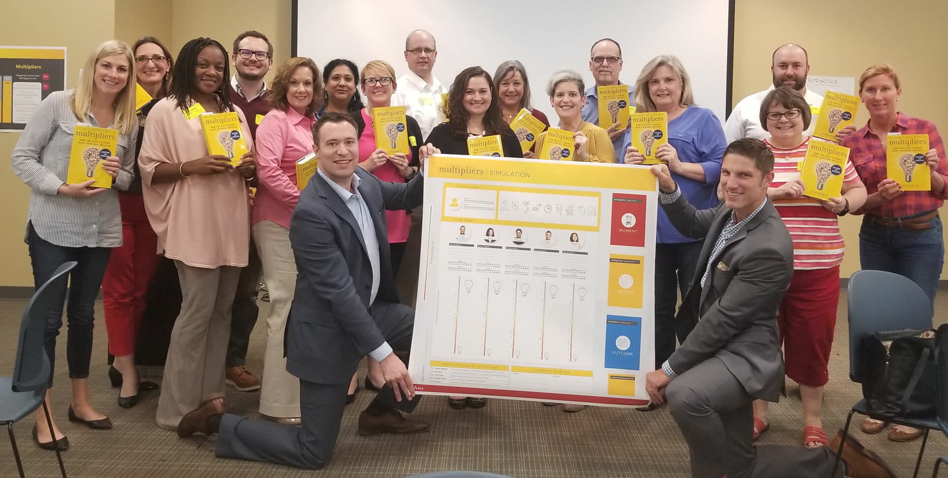 Nashville leaders learned about becoming Multipliers in our complimentary showcase Oct. 12 that also benefitted the Second Harvest Food Bank. It's time to nominate a leader you love for Multiplier of the Year.