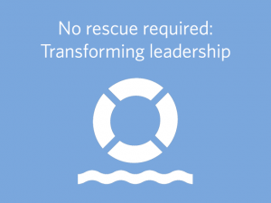No rescue required - transforming leadership in pharma sales