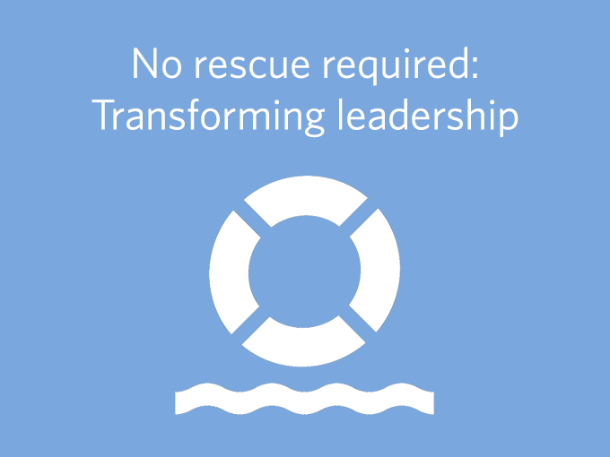 Custome r story: No rescue required - transforming leadership in pharma sales