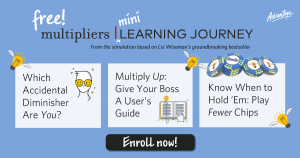 Enroll in our free Multipliers mini learning journey!