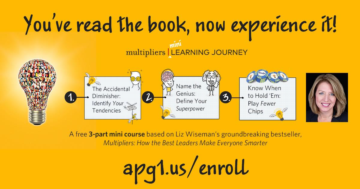 Multipliers Mini Learning Journey - Enroll now!