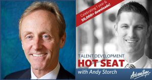 Josh Bersin joins Andy Storch on the Talent Development Hot Seat podcast