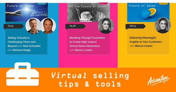 Virtual Selling Tools from our Future of Sales webinar series