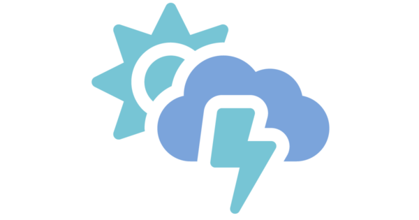 Talent Development Tuesday: Storm Clouds and Silver Linings (sun and thunderbolt icon)