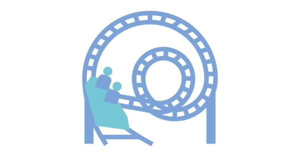 Talent Development Tuesday - Roller coaster blues (roller coaster artwork)