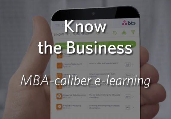 Know the Business - MBA-caliber elearning