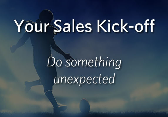 Your Sales Kick-off