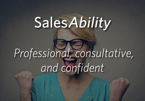 SalesAbility - Professional, Consultative and Confindent
